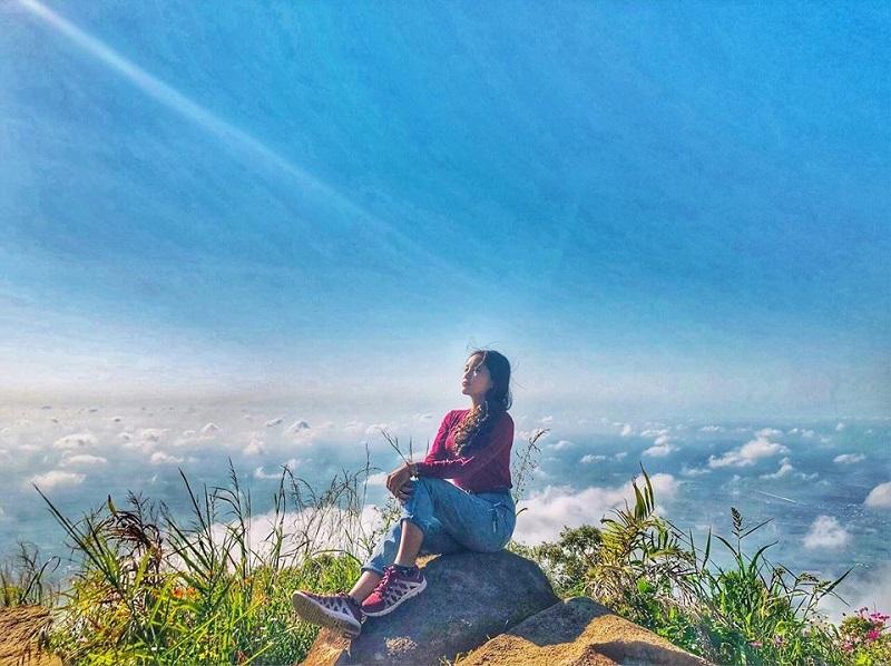 Check in đỉnh núi Bà Đen - nóc nhà nam bộ