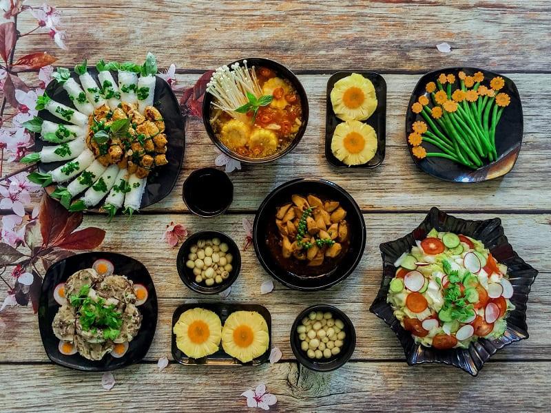 Các món ăn chay hấp dẫn