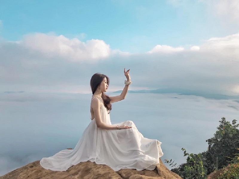 săn mây trên núi