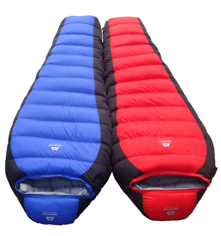 Thiết kế túi ngủ đi phượt hình nhộng với mũ đội đầu chống thoát nhiệt