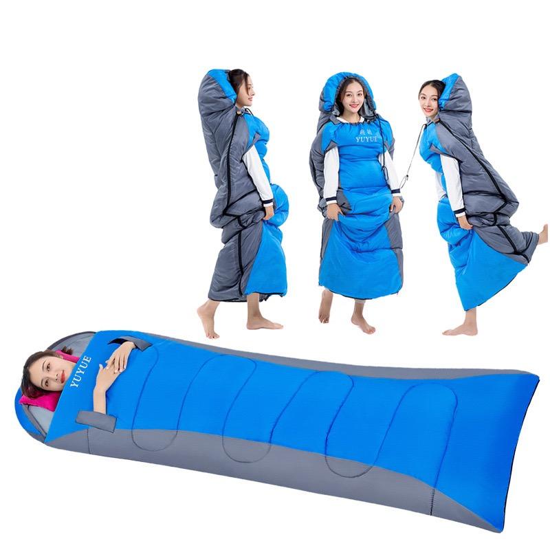 Thiết kế sáng tạo với mẫu túi ngủ thò tay chuyên dụng