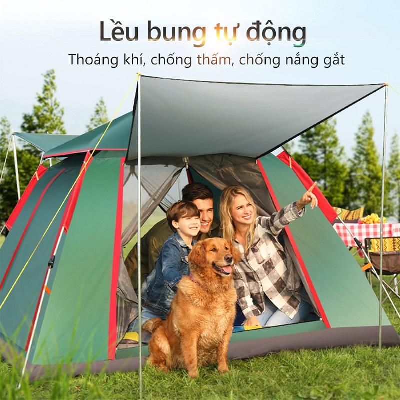 Một trong những dòng lều cắm trại của Roc vietnam