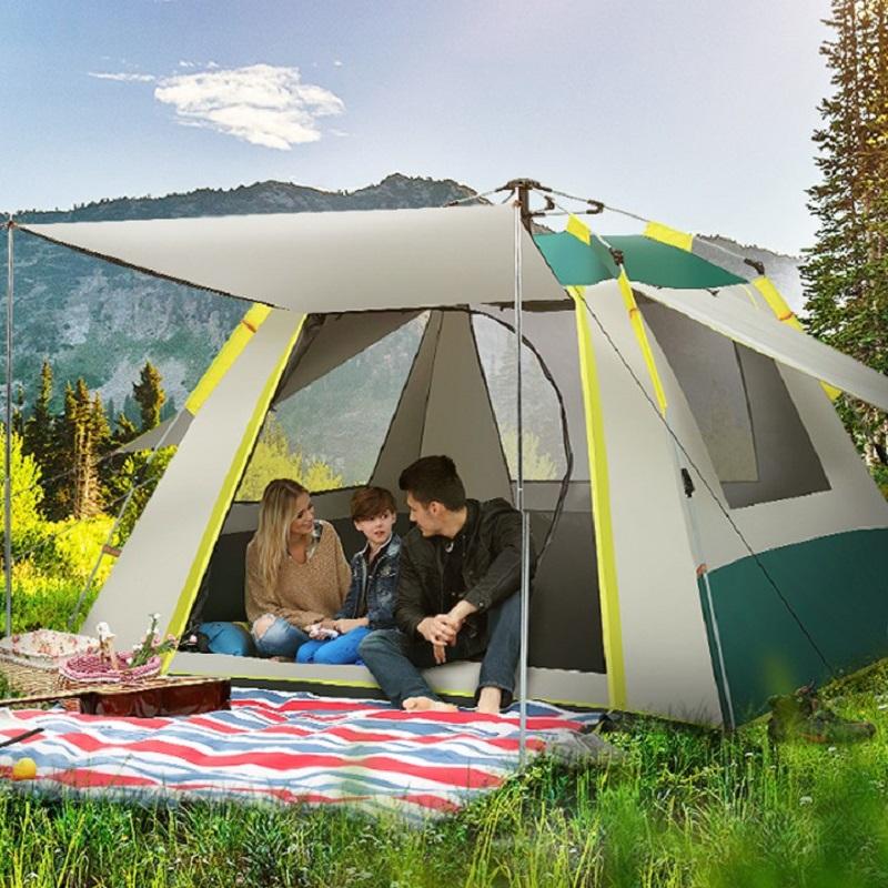 Lều cắm trại là vật dụng vô cùng cần thiết cho những chuyến du lịch